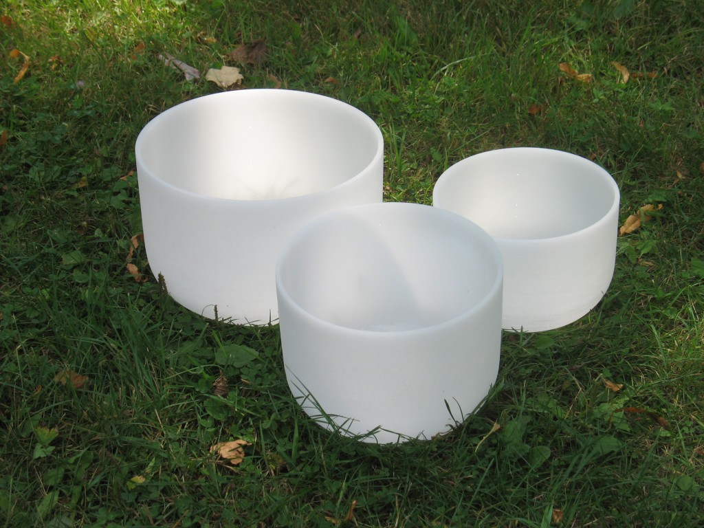 Frosted Singing Bowls