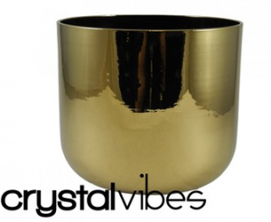 Titanium Gold Bowl