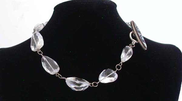 Wrapped Quartz with Silver